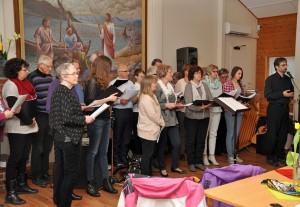 NRI-koret med dirigent Audun Sæbø